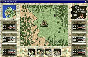 台灣最早引進的俠客遊,明明就是二代的說……圖片連結自ARTDINK Lunatic Dawn II官網。